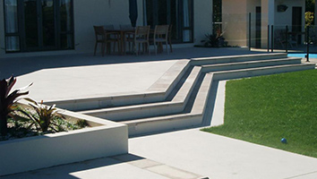 residential steps landscaping